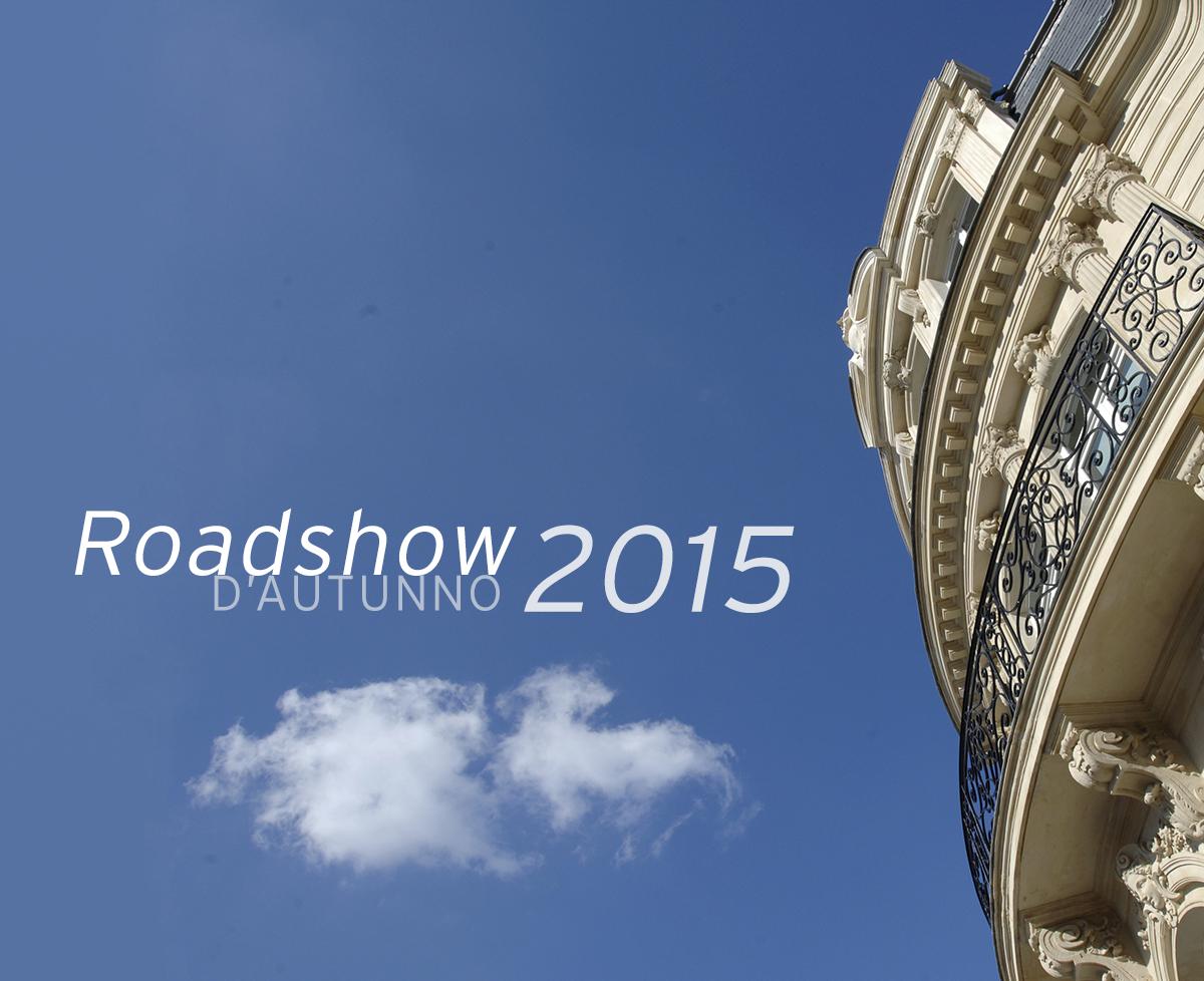 Roadshow d'Autunno 2015