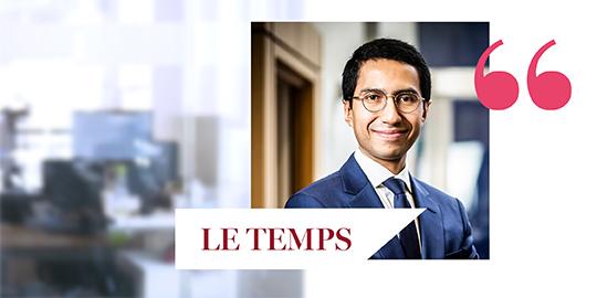 Interview de Rolando Grandi dans le Journal Le Temps