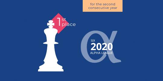 La Financière de l'Echiquier, de nieuwe winnaar  van de Alpha League Table