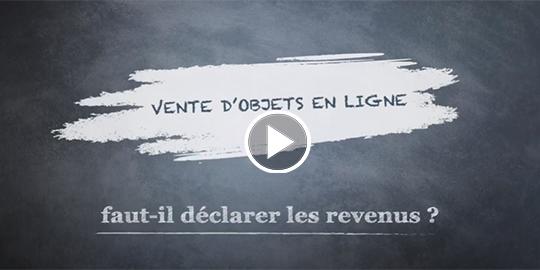 Vente d'objets en ligne : faut-il déclarer les revenus ?