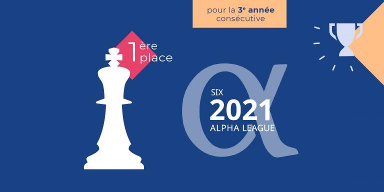 La Financière de l'Echiquier, vainqueur de l'Alpha League Table pour la troisième année consécutive