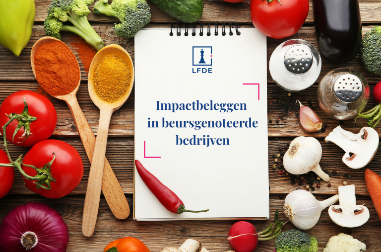 Kent u het recept van impactbeleggen in beursgenoteerde bedrijven?