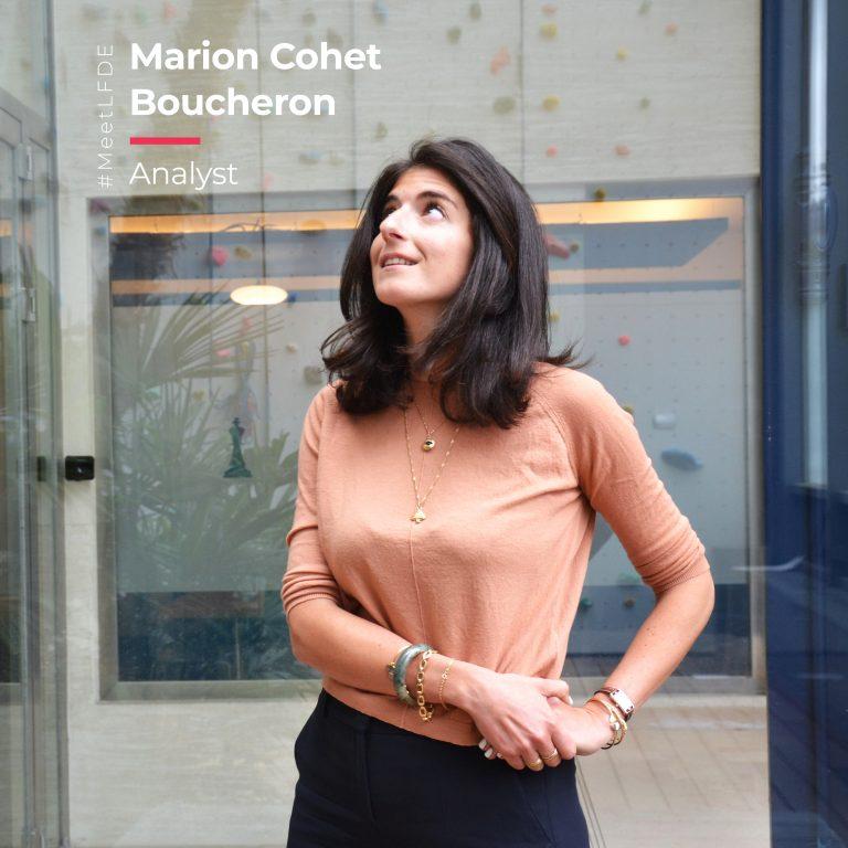 #MeetLFDE : Marion Cohet Boucheron, Analyst, La Financière de l'Echiquier