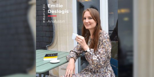 #MeetLFDE : Emilie Deslogis, Analystin für internationale und thematische Aktien, LFDE – La Financière de l'Echiquier