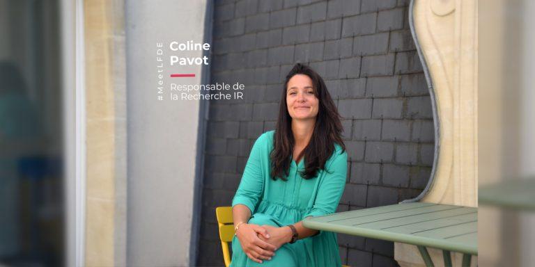 Portrait #MeetLFDE Coline Pavot