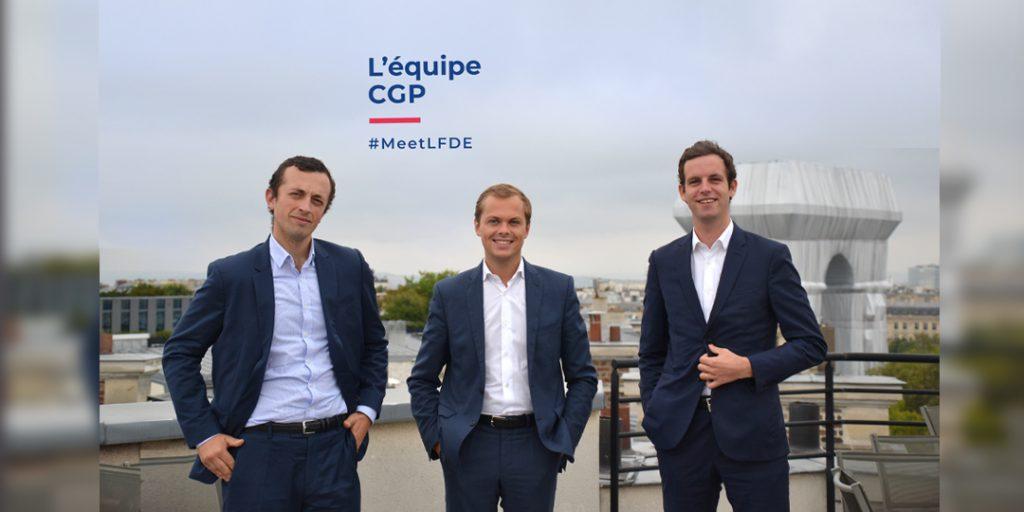 #MeetLFDE - l'équipe CGP