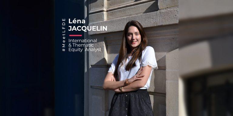 Portrait #MeetLFDE Léna Jacquelin