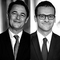 Frédéric Plisson et Jean-Charles Belvo